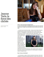 Jeanne Taris - Sud Ouest Le Mag